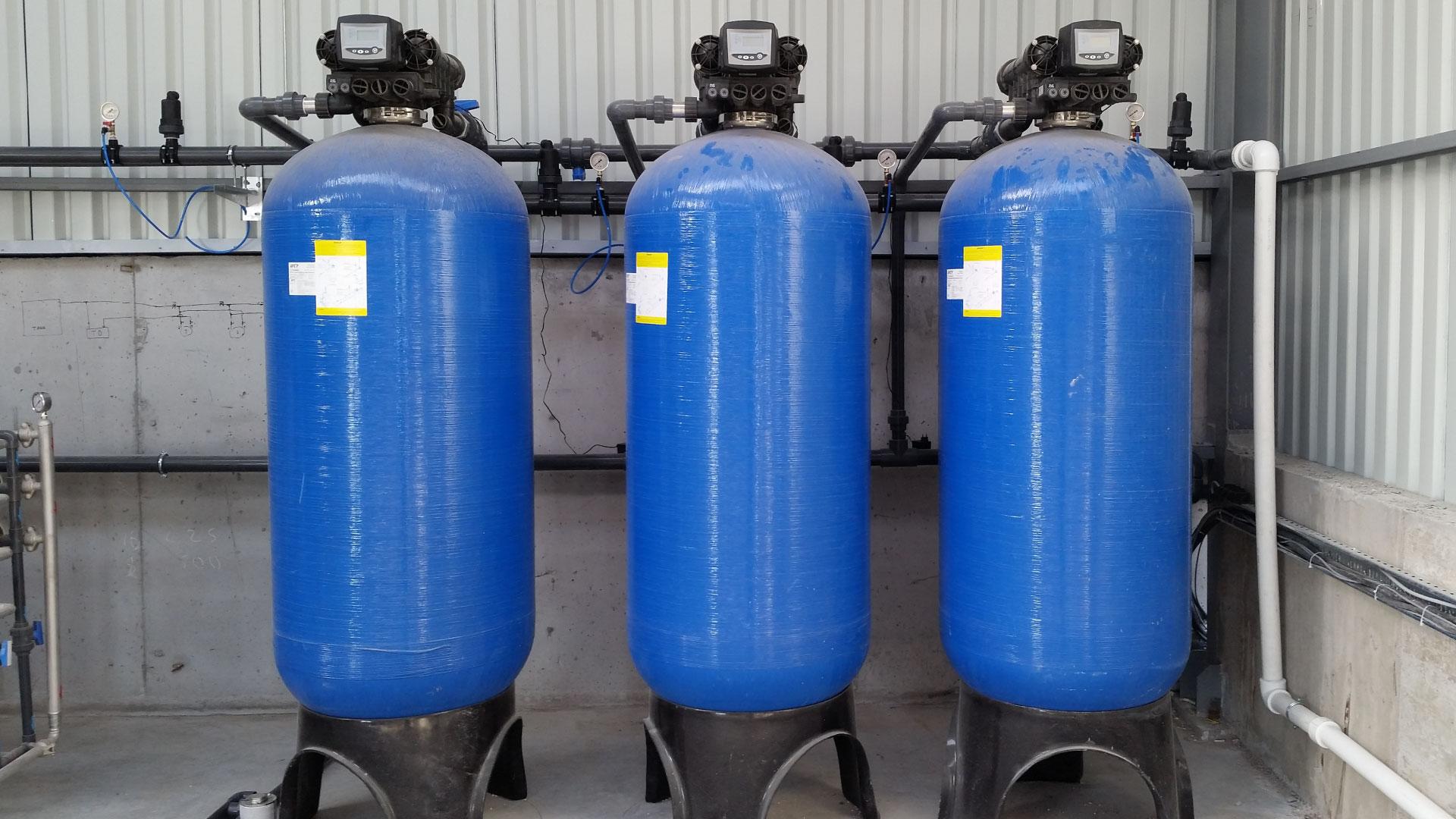 Demir Mangan Giderim Filtrasyon Sistemleri
