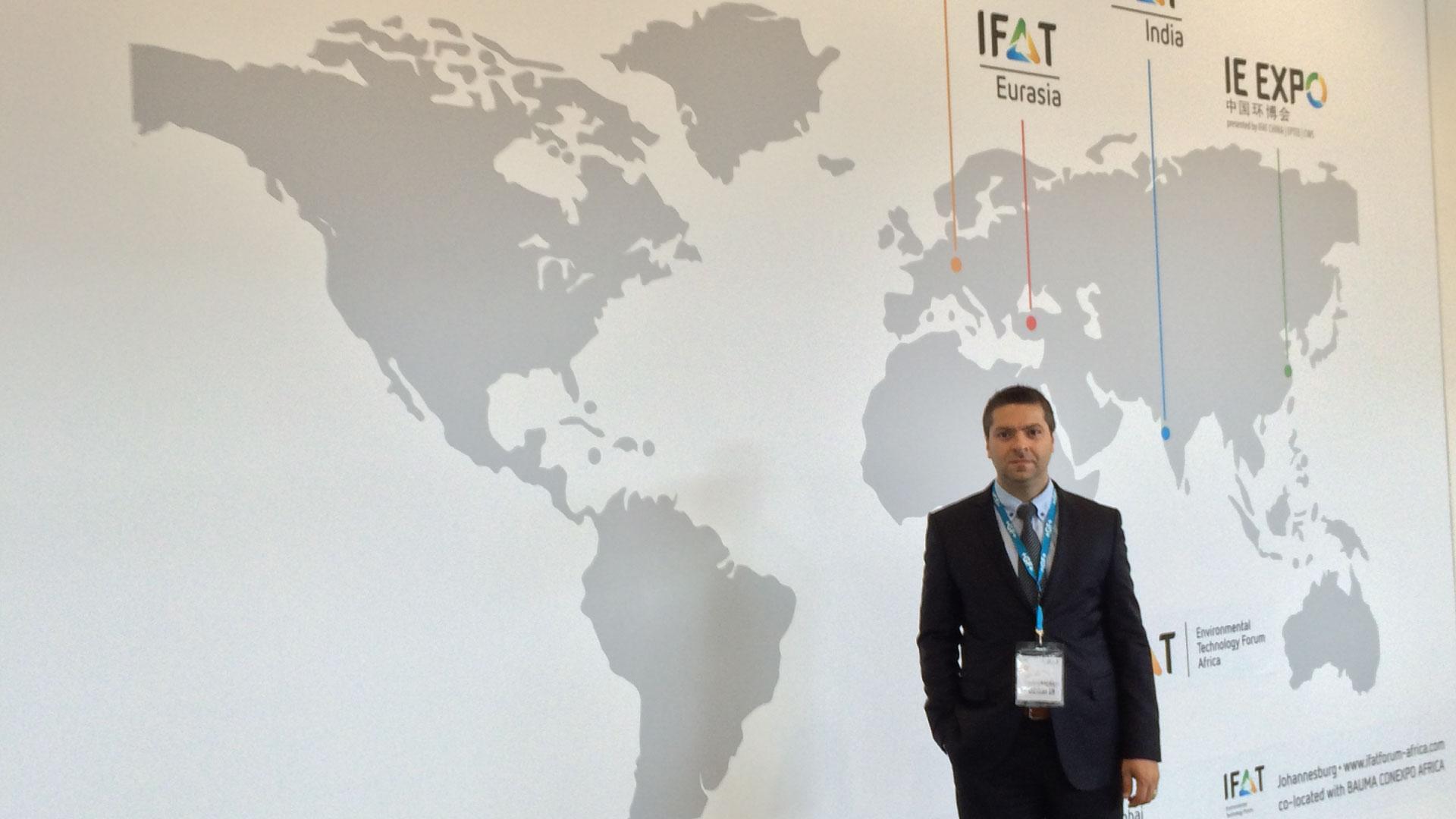 IFAT 2014 Münih Gezisi