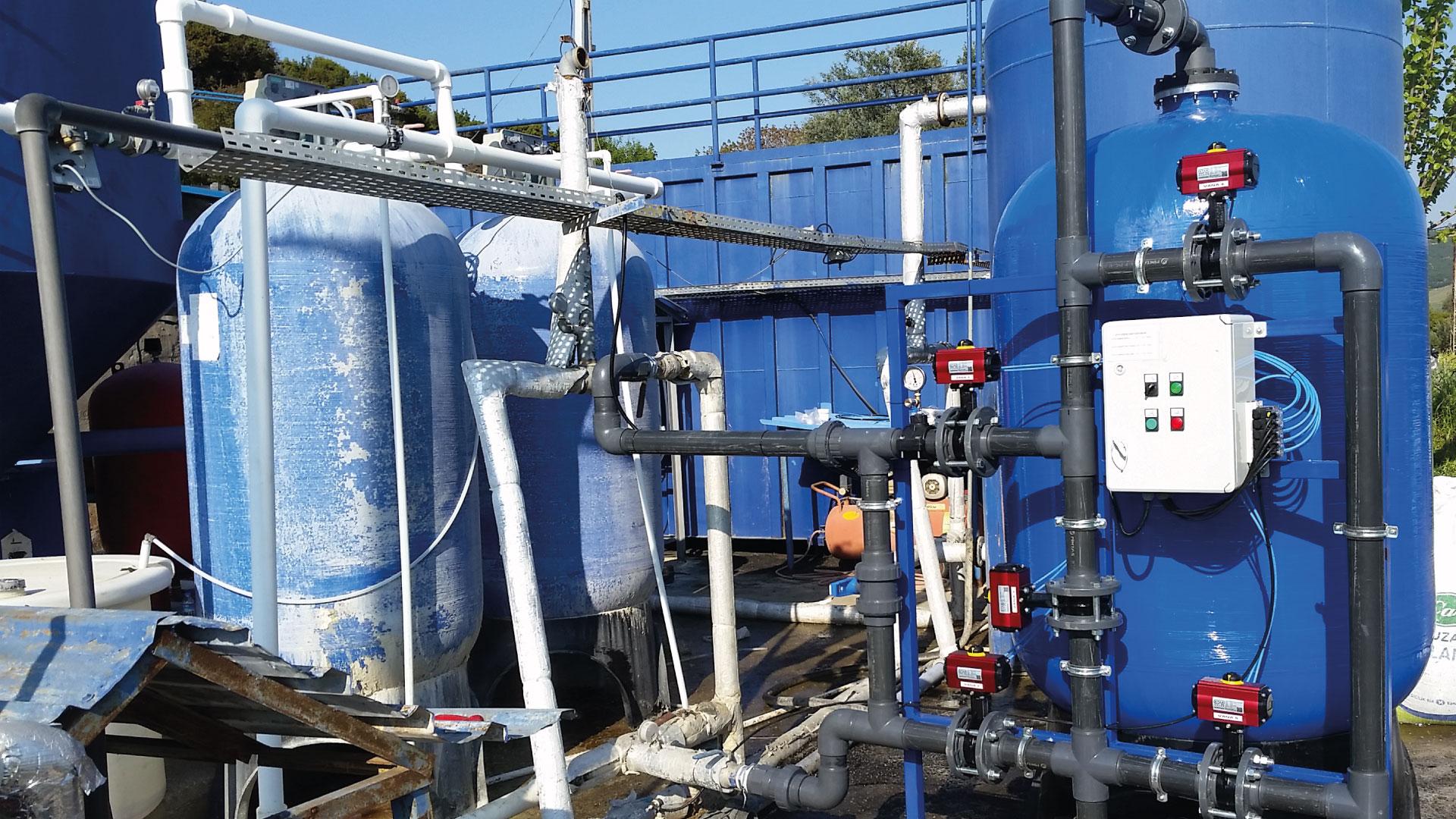 Aktif Karbon Su Filtre Sistemleri