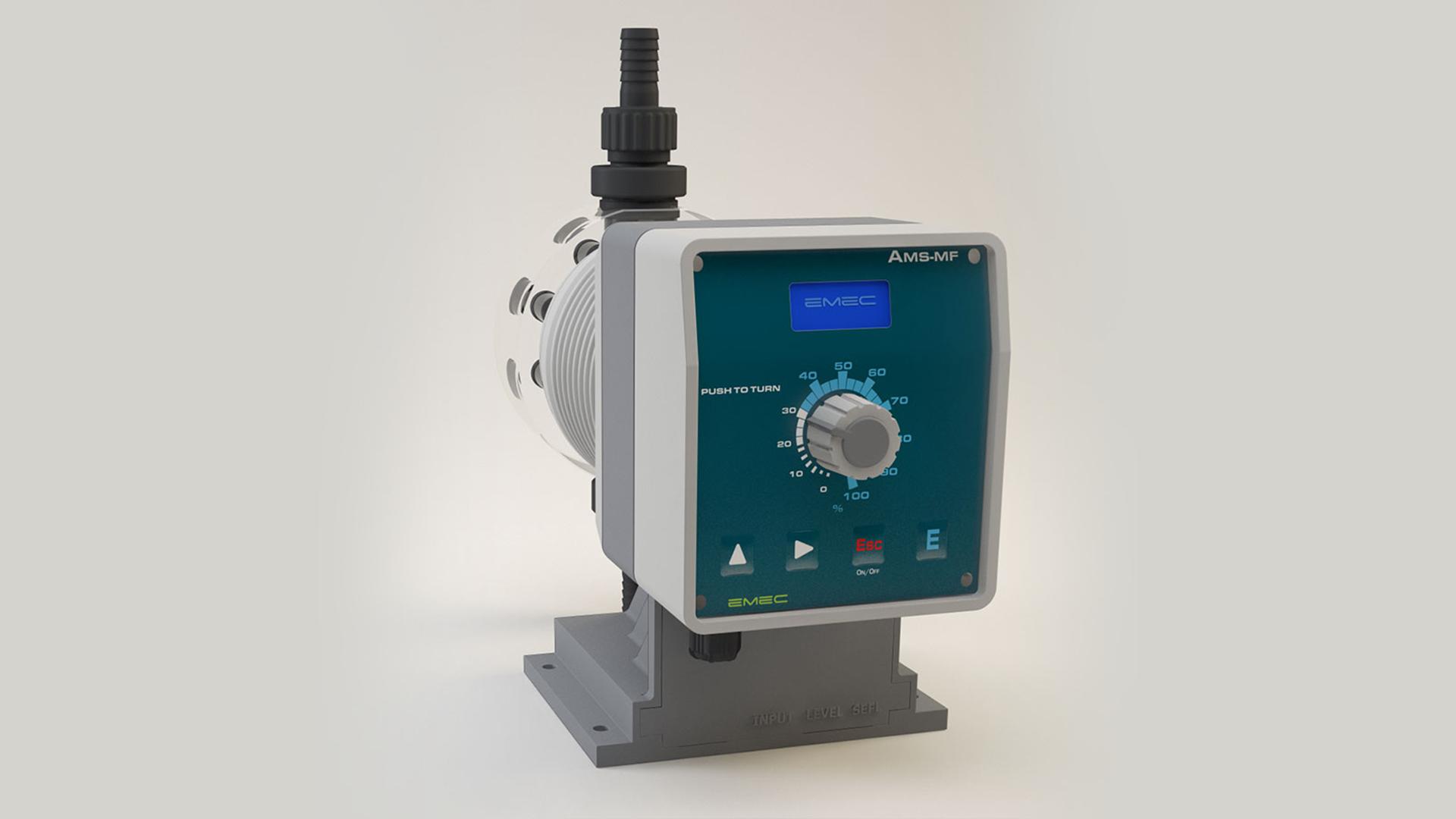 EMEC AMS Serisi Elektromanyetik Dozaj Pompaları